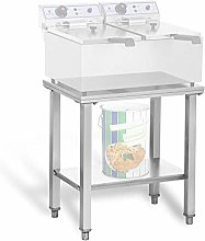 Royal Catering RCSF-15D Shelf Table for Deep Fat