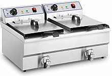 Royal Catering RCSF-16DTH Electric Deep Fryer