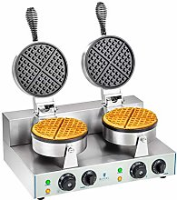 Royal Catering - RCWM-2600-R - Double Waffle Maker
