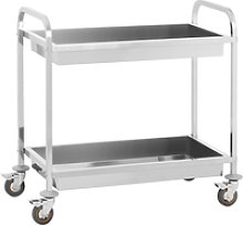 Royal Catering Serving Trolley - 2 Container Trays