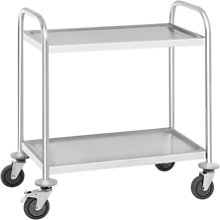 Royal Catering Serving Trolley - 2 shelves - up to