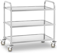 Royal Catering Serving Trolley - 3 shelves - up to