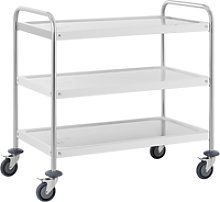 Royal Catering Serving trolley - 3 trays - up to