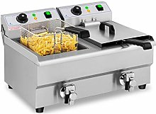Royal Catering Stainless Steel Deep Fat Fryer