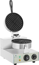Royal Catering Waffle Maker - 1300 Watts - Round
