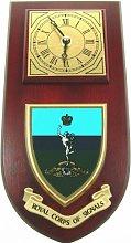 Royal Corps Of Signals Wall / Mess Clock