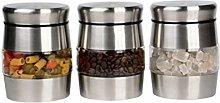 Royal Cuisine glass storage jars canister storage