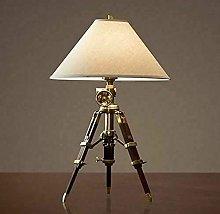 Royal Designer Brass Nautical Desk Lamp Brown