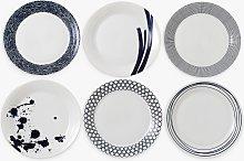 Royal Doulton Pacific Porcelain Dinner Plates, Set