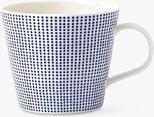 Royal Doulton Pacific Porcelain Dot Mug, Blue,
