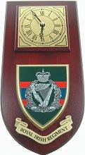 Royal Irish Regiment Wall / Mess Clock
