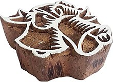 Royal Kraft Bell Wooden Printing Block Stamp - DIY