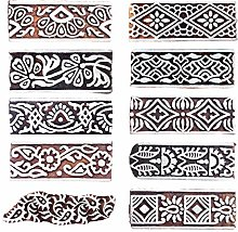 Royal Kraft Border Wooden Printing Stamps (Set of