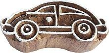 Royal Kraft Car Wooden Printing Block Stamp - DIY
