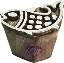 Royal Kraft Fish Wooden Printing Block Stamp - DIY