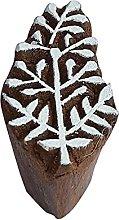 Royal Kraft Tree Wooden Printing Block Stamp - DIY
