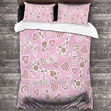 Royal Legacy Baby Deer 3 Piece Bedding Cover Set