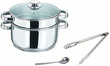 ROYAL SAPPHIRE Stainless Steel Steamer Set with