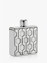 Royal Selangor Hexagon Hip Flask, 100ml