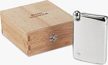 Royal Selangor Hip Flask with Blond Box, 140ml
