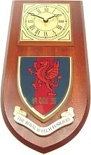 Royal Welch Fusiliers Wall / Mess Clock