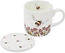 Royal Worcester Mug & Coaster Set