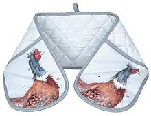 Royal Worcester Wrendale Double Oven Glove -