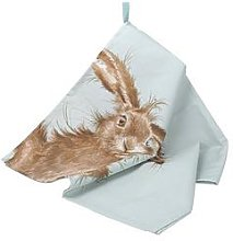 Royal Worcester Wrendale Tea Towel - Hare