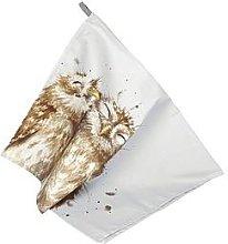 Royal Worcester Wrendale Tea Towel - Owl