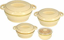 Royalford 3pc Hot Pot Insulated Food Warmer –