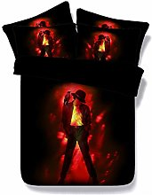 RoyalLinens Classical black and red Michael