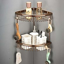 ROYWY 1-Piece Shower Cubicle, Copper, Wall-Mounted