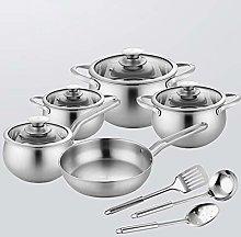 ROYWY 8-Piece Stainless Steel kitchenware Set, 4