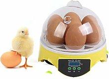 ROYWY Digital Mini Egg Hatching 7 Eggs Incubator