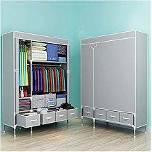 RSBCSHI Wardrobe Simple Portable Closet Organizer