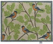 RSPB Bullfinch Doormat - 65 x 85cm