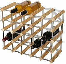 RTA 25 Bottle Traditional Wine Rack-Kit-Natural