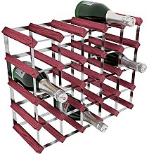 RTA 25 Bottle Traditional Wine Rack-Kit-Rosewood
