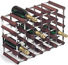 RTA 30 Bottle Traditional Wine Rack-Kit-Dark Pine