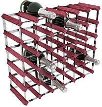 RTA 36 Bottle Traditional Wine Rack-Kit-Rosewood
