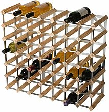 RTA 49 Bottle Traditional Wine Rack-Kit-Natural
