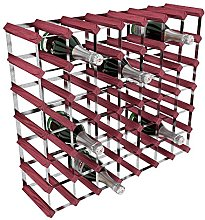 RTA 49 Bottle Traditional Wine Rack-Kit-Rosewood