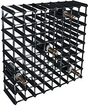 RTA 72 Bottle Traditional Wine Rack-Kit-Black Pine