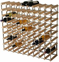 RTA 81 Bottle Traditional Wine Rack-Kit-Natural