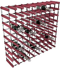 RTA 81 Bottle Traditional Wine Rack-Kit-Rosewood