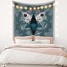 RTEAQ Tapestry Abstract Girl Mandala Tapestry Wall