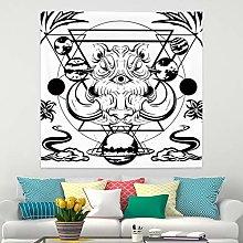 RTEAQ Tapestry Bohemian Decoration Tapestry Wall