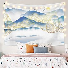 RTEAQ Tapestry Chinese Style Landscape Painting