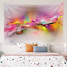 RTEAQ Tapestry Colorful Cloud Tapestry Bedside
