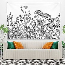 RTEAQ Tapestry Colorful Floral Tapestry For Living